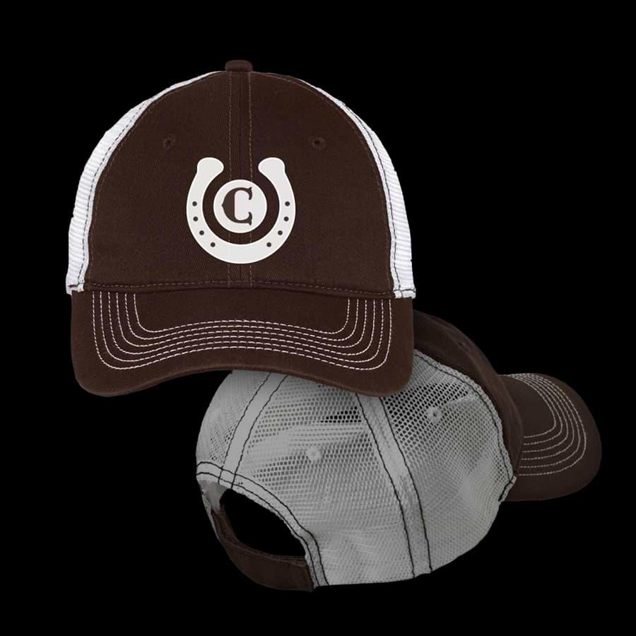 Cowboy Logo Trucker Hat