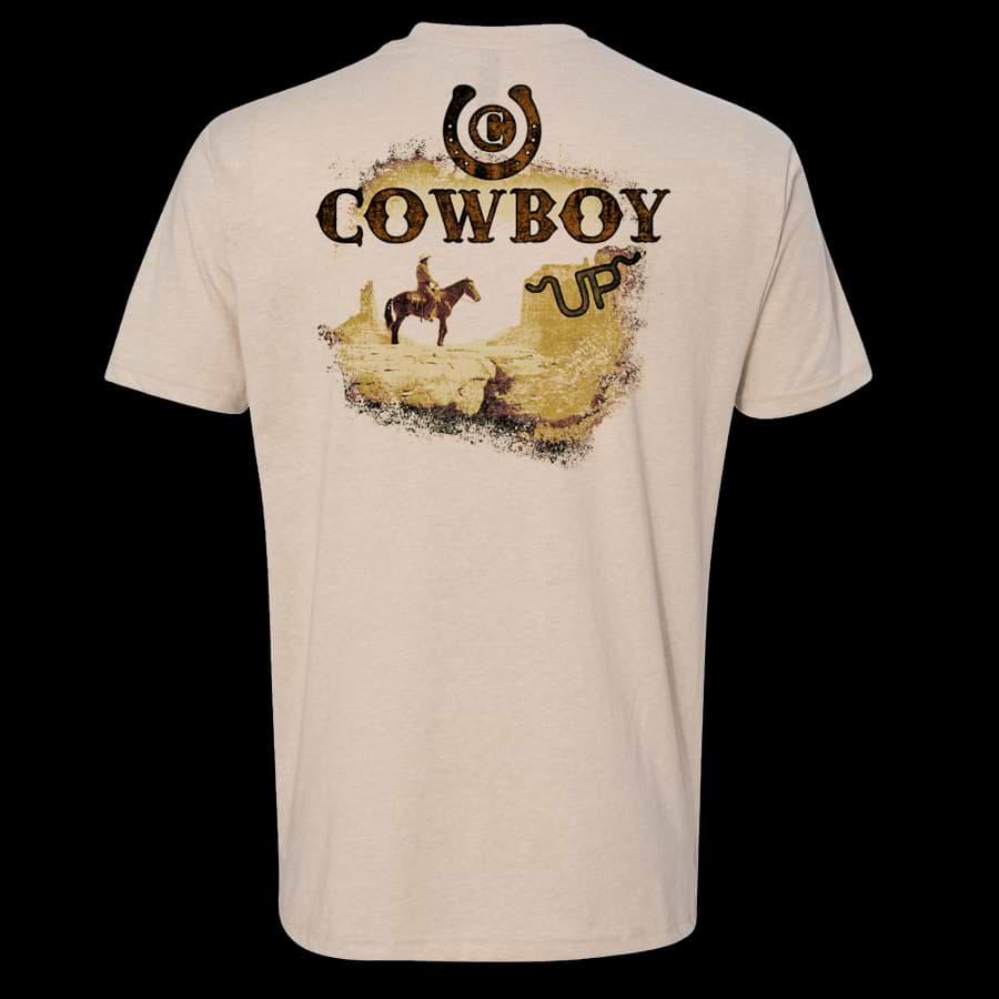 Men's shirt back